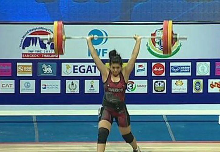 La mexicana ganó tres medallas. (Foto:  @COM_México/Twitter)
