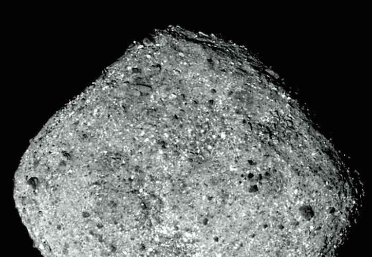 Bennu es considerado potencialmente peligroso por su cercanía y tamaño. (NASA)