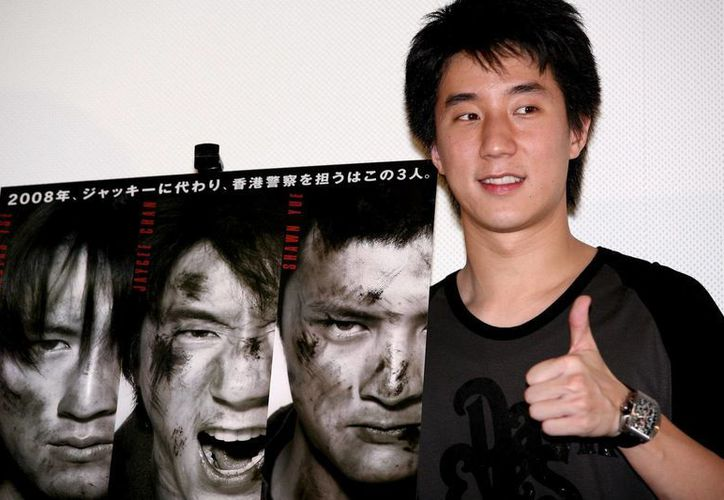 El actor chino Jaycee Chan, hijo del famoso intérprete internacional Jackie Chan. (Archivo/EFE)