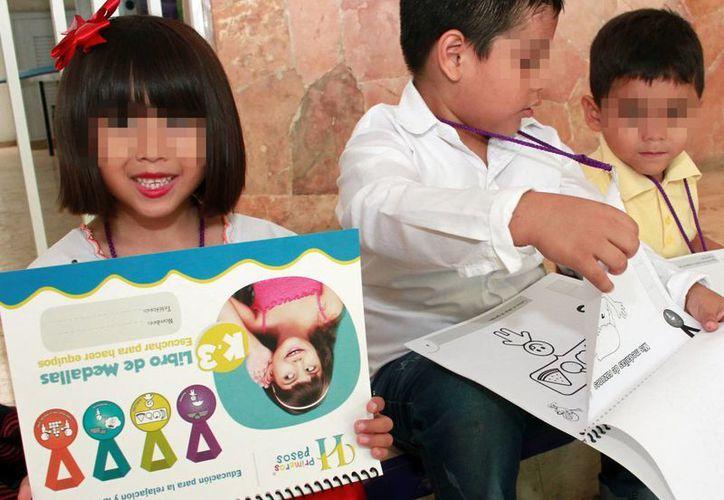 Los alumnos de la escuela Crescendo Escuela Viva usan el método de enseñanza Habraz, con grandes resultados. (Milenio Novedades)
