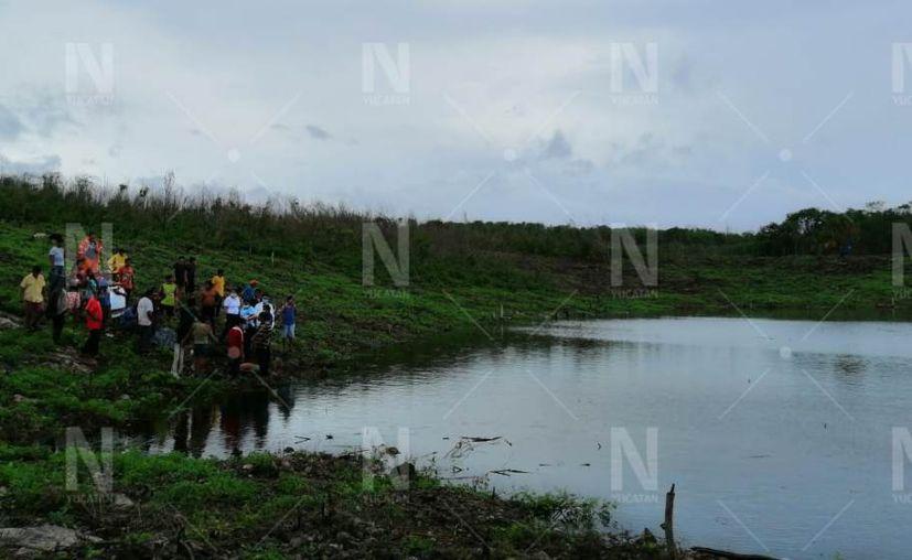 """La aguada denominada """"Rejoyada"""" se localiza en la comisaría Santa María de Aznar. (Novedades Yucatán)"""