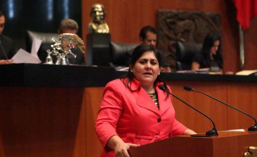 Diva Hadamira Gastélum Bajo cuenta con una amplia carrera política. (Cortesía/SIPSE)