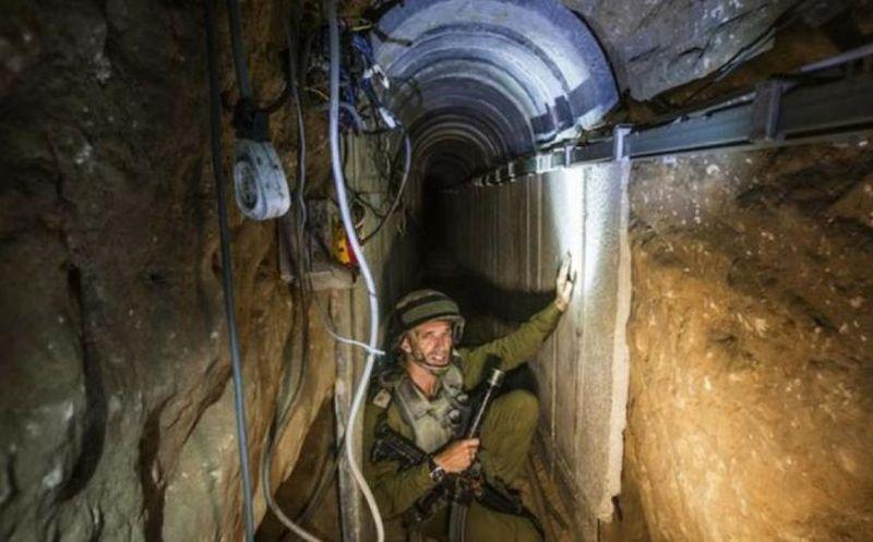 Hamas ha utilizado túneles para burlar los controles fronterizos del Estado judio