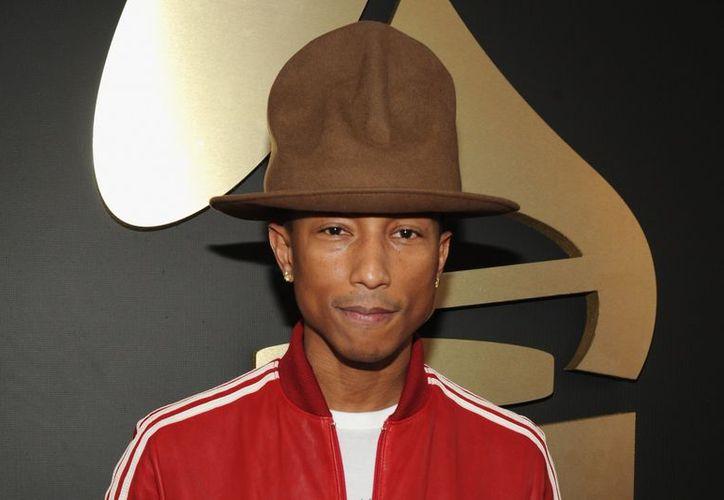 El músico estadounidense Pharrell Williams lanzó un nuevo tema, parte de la banda sonora de Mi villano favorito 3. (Foto: Contexto/Internet)