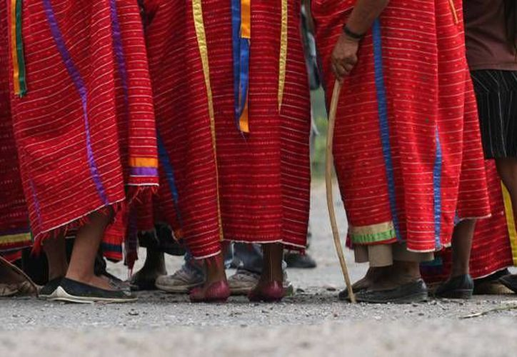 La menor triqui se encuentra bajo custodia de las autoridades por el momento. (nayaritenlinea.mx)