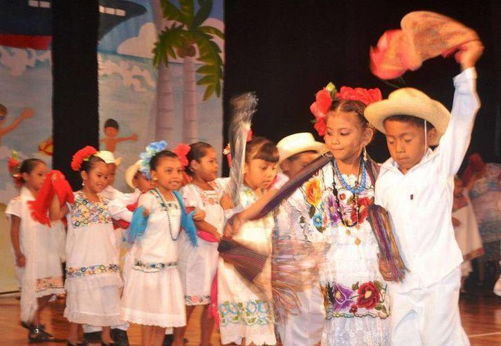 Participaron nueve jardines de niños capitalinos. (Redacción/SIPSE)