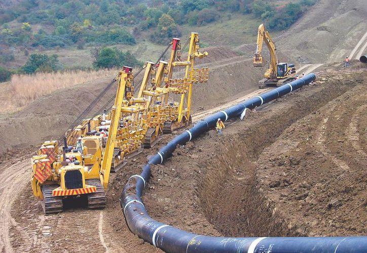 El gasoducto Samalayuca-Sásabe tendrá la capacidad para transportar 472 millones de pies cúbicos diarios de gas. La imagen cumple funciones estrictamente referenciales. (Archivo/SIPSE)