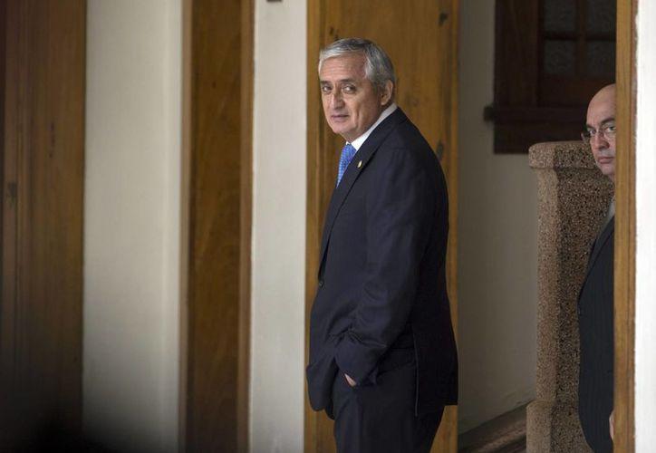 El expresidente de Guatemala, Otto Pérez Molina, enfrenta un proceso por corrupción por el cual tuvo que dejar el cargo en 2015. (AP/Archivo)