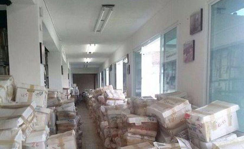 El Archivo Municipal tiene en su haber 12 mil cajas de documentos. (Tomás Álvarez/SIPSE)