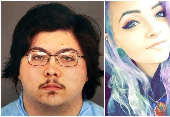 Joseph Michael López, de 23 años, mató con un arma de fuego a Natalie Bollinger, de 19 años. (Internet)