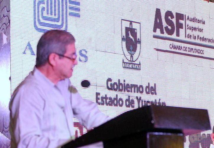 Juan Manuel Portal Martínez, auditor superior de la Federación. (Milenio Novedades)