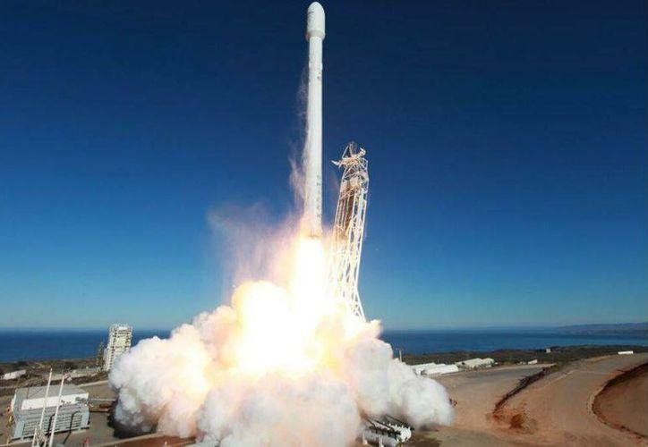 SpaceX construirá un parque espacial para abastecer a la Estación Espacial Internacional como parte de un contrato con la NASA. (spacex.com)