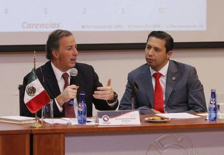 El secretario de Desarrollo Social dijo que actualmente menos mexicanos se encuentran en rezago educativo. (Notimex)