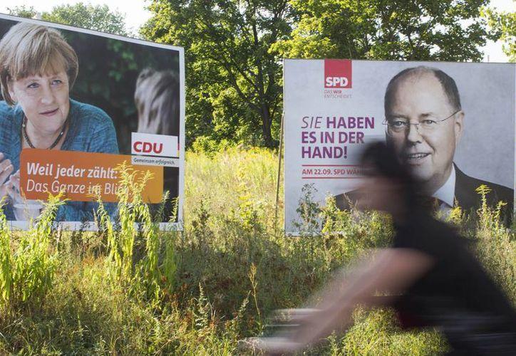 La campaña electoral en Alemania no ha podido librarse del tema de la crisis en Grecia. (Agencias)