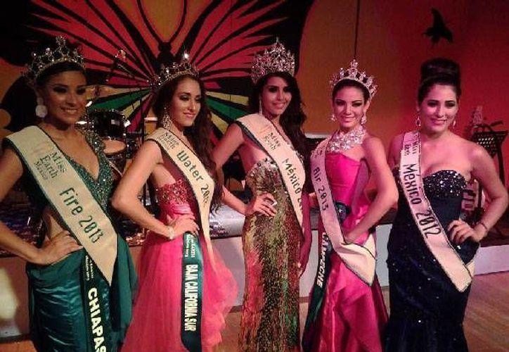 Las 32 aspirantes a ser Miss Earth México 2015 desfilarán en Tulum. (Contexto/Internet)