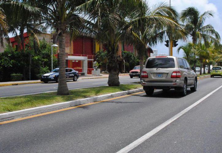 """""""Castigarán"""" a quien viole la ley de tránsito. (Eric Galindo/SIPSE)"""