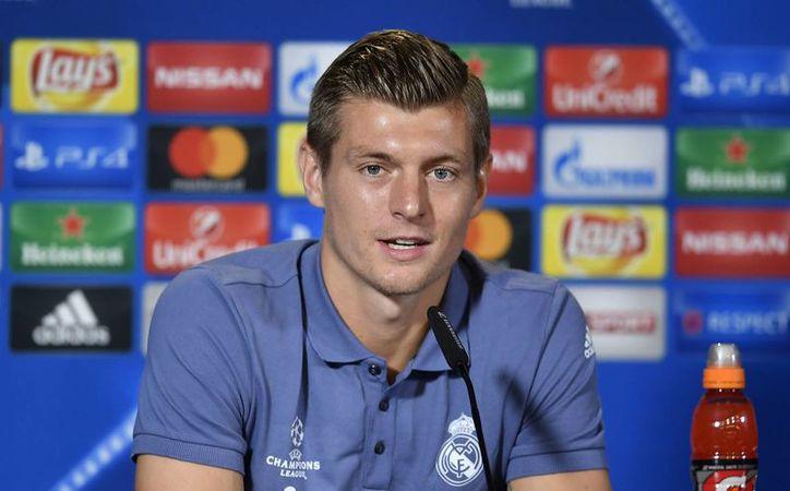 Toni Kroos forma parte del Real Madrid, desde julio de 2014, luego de jugar en la Bundesliga con el Bayern Múnich.(Martin Meissner/AP)