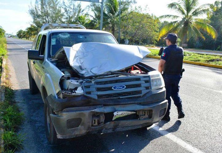 La comunidad ciclista de Playa del Carmen pide que se castigue al conductor que atropello y mató a dos ciclistas el domingo. (Daniel Pacheco/SIPSE)