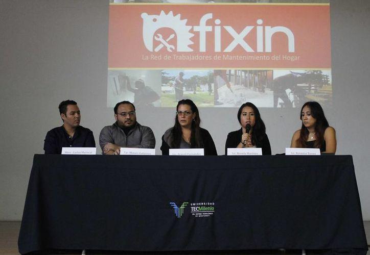 La presentación se realizó en el auditorio de la Universidad Tec Milenio. (Yajahira Valtierra/SIPSE)