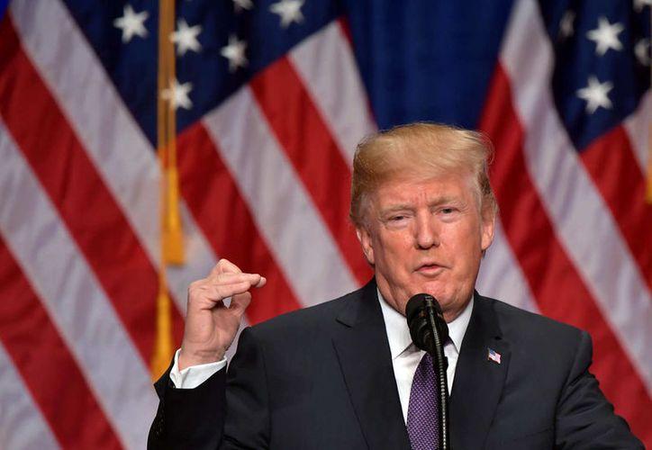 Donald Trump presentó los lineamientos de su estrategia de seguridad nacional. (Foto: NYMag)