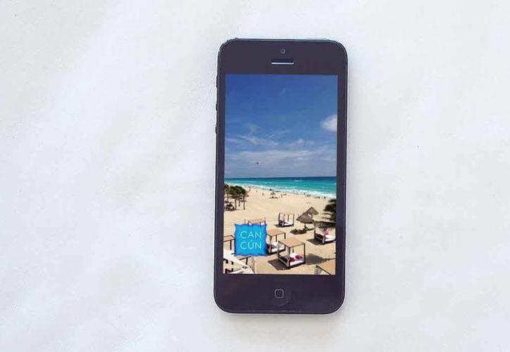 La aplicación Snapchat ya cuenta con un geofilter para uno de los destinos más visitados del mundo, Cancún. (Tomás Álvarez/SIPSE)