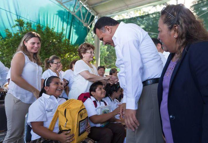 Yucatán es la quinta entidad con mayor eficiencia terminal en educación primaria en México, lo que significa que los alumnos de este nivel concluyen a tiempo sus estudios. (Cortesía/ DGCS)