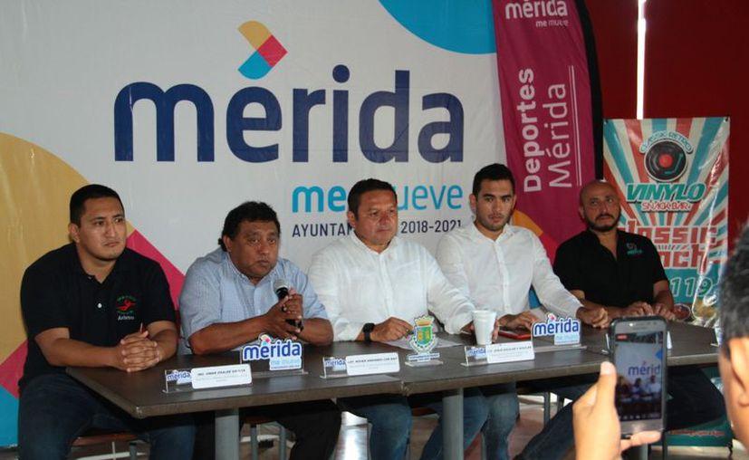Ayer se realizó la presentación oficial de la Liga Meridana de Handball. (Jorge Acosta/Novedades Yucatán)