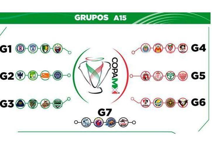 El calendario de partidos y horarios de la Copa MX ya está listo, y se hará público en al draft de jugadores, en Cancún. Sin embargo, ya fue 'filtrado' a la prensa. (AscensoMX)
