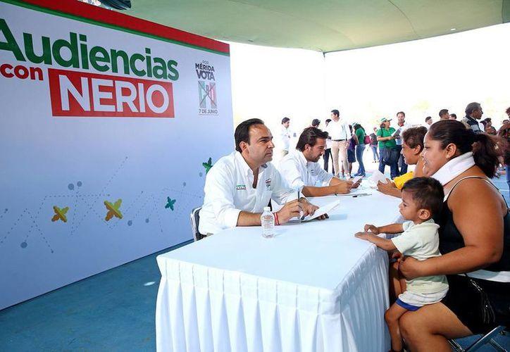 Nerio Torres Arcila recordó que desde hace 10 años promueve las audiencias públicas. (Milenio Novedades)