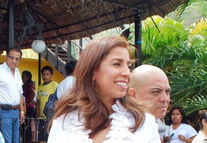 Marybel Villegas sería precandidata externa a la alcaldía de Benito Juárez en el PRD. (Tomás Álvarez/SIPSE)
