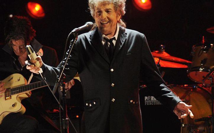 Bob Dylan ganó el premio Nobel de Literatura 2016. La imagen es de 2012. (Archivo/AP)