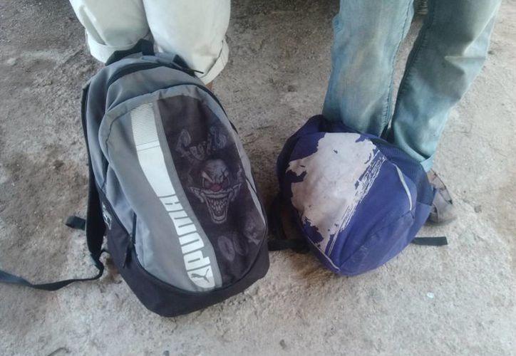 Los dos muchachos fueron abandonados en Cancún por los coyotes que les prometieron llevarlos a Estados Unidos. (Rossy López/SIPSE)