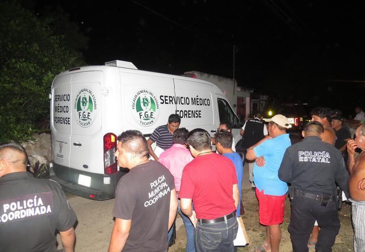 Personal del Ministerio Público y Servicios Periciales con base en Valladolid, acudieron a efectuar el levantamiento del cadáver y demás diligencias. (Imagen de archivo/ SIPSE)