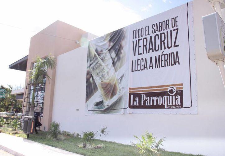 En su modalidad de franquicia, La Parroquia está ubicada en la plaza City Center, en el norte de Mérida. (Jorge Acosta/SIPSE).