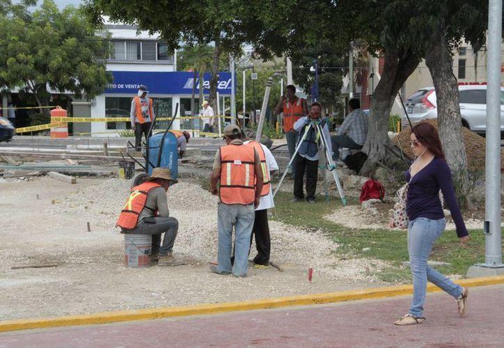 También se anunció cableado subterráneo en la zona de remodelación. (Tomás Álvarez/SIPSE)