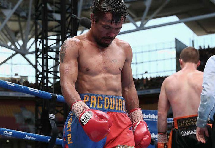 Manny Pacquiao expuso en Twitter que el retiro no está en su mente. (Getty Images).
