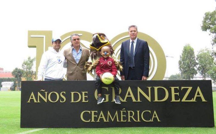 El video del Centenario de las Águilas, ya se encuentra disponible en todas las redes sociales del Club.(Club América)