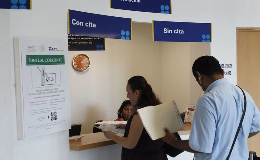Contribuyentes con créditos exigibles se pusieron al corriente para evitar ser exhibidos. (Archivo/SIPSE)