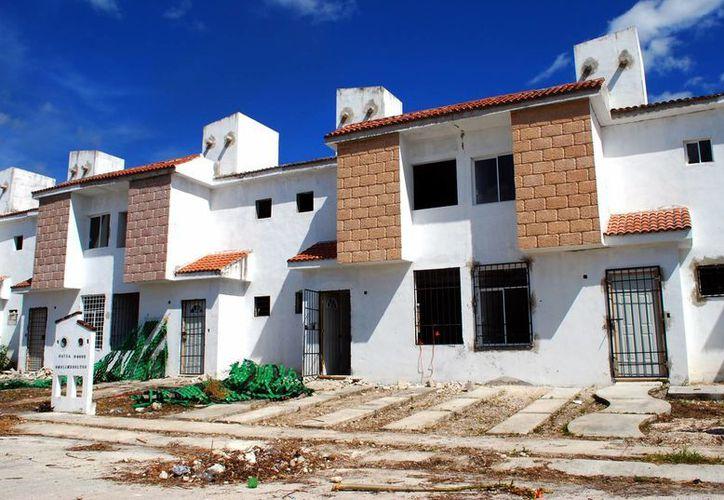 La cifra de casas abandonadas es menor en Q.Roo, debido a que se confunden con las casas deshabitadas. (Tomás Álvarez/SIPSE)