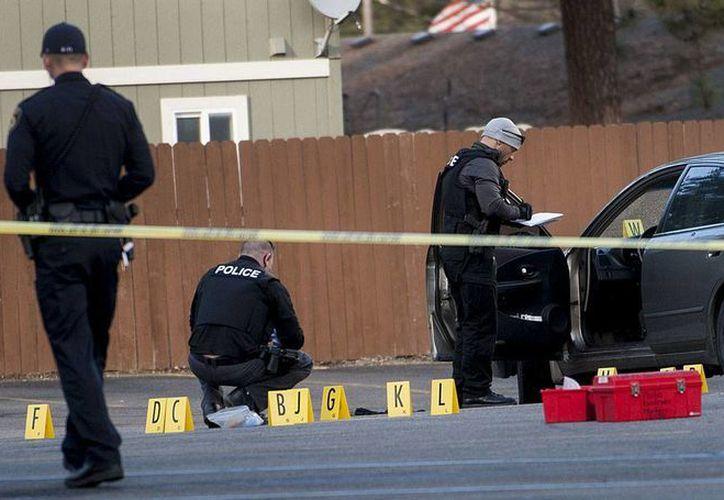 Policías de Idaho investigan el ataque al pastor Tim Remington, quien un día antes del tiroteo participó en un mitin de Ted Cruz, precandidato republicano a la presidencia de EU. (AP)