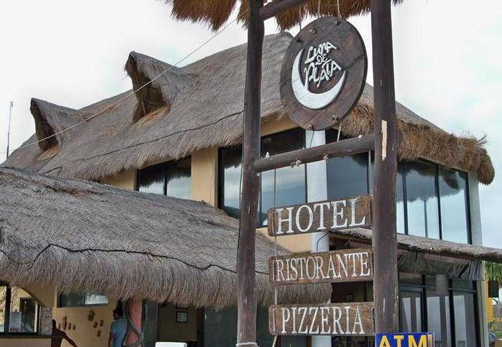 Hoteles en Mahahual alcanzaron un lleno total durante el pasado fin de semana. (Contexto/SIPSE)