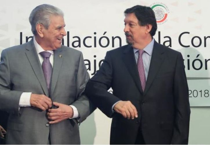 Aunque el Sindicato Minero renunció al Congreso del Trabajo en 2008, esta podría ser una nueva integración en sus filas. (Vanguardia)