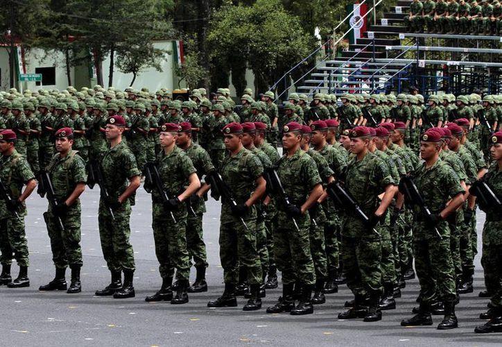 La Defensa Nacional contempla un aumento de cinco mil 529.4 millones de pesos a su presupuesto. (Archivo/Notimex)