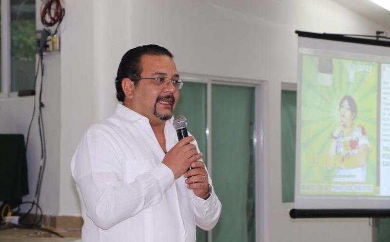Carlos Sobrino Argáez, insistió en evitar los hechos violentos durante la jornada. (Redacción)