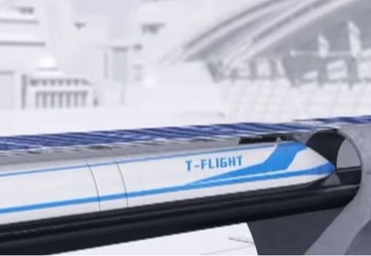 """Aún no hay una fecha para el lanzamiento del """"tren volador"""". (Foto: YouTube)"""