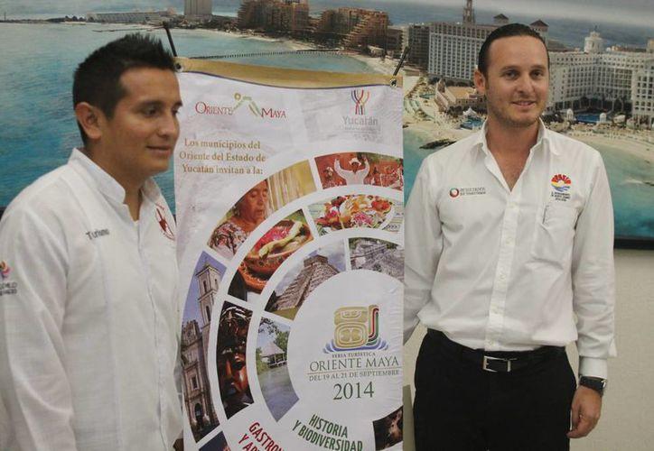Los organizadores han realizado conferencias de prensa para invitar a locales y turismo a la fiesta. (Israel Leal/SIPSE)