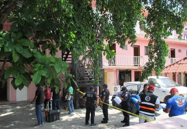Un hombre perdió la vida en un hotel de la colonia Luis Donaldo Colosio de Playa del Carmen. (Redacción/SIPSE)