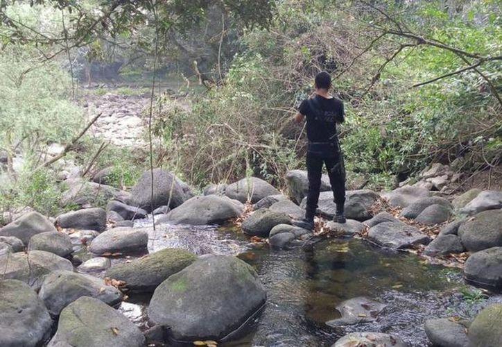 Protección Civil de Veracruz anunció que ya se investiga el hecho de que el río  Atoyac se haya quedado sin agua. (twitter.com/spcver)