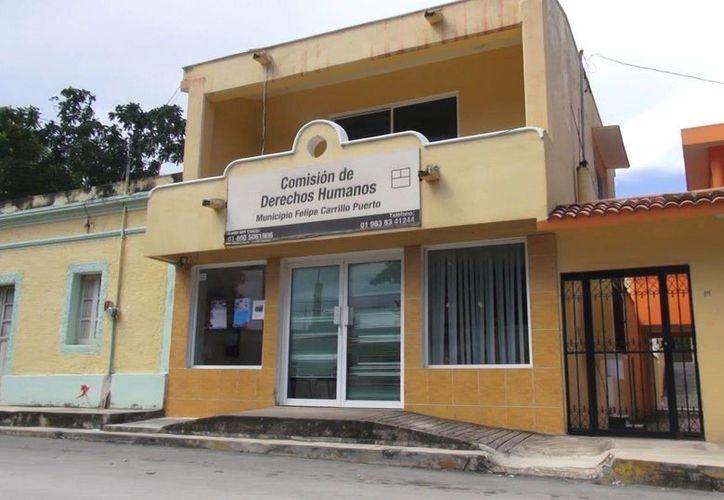 La Comisión de Derechos Humanos informó que se había entrevistado con los detenidos. (Manuel Salazar/SIPSE)