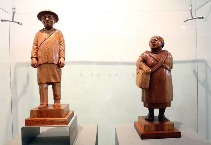 De la obra prolífica del desaparecido grabador, la familia conserva un promedio de 80 esculturas. (Milenio Novedades)